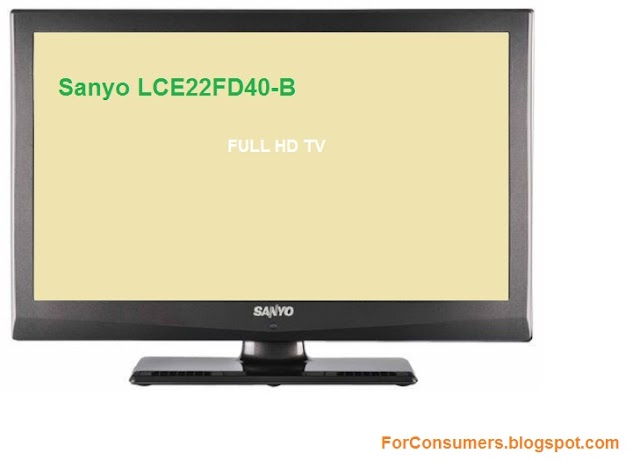 Sanyo LCE22FD40-B review