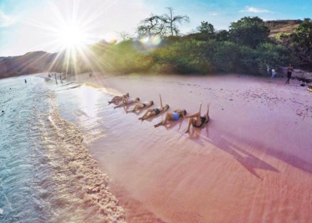 Pantai Pink, Flores