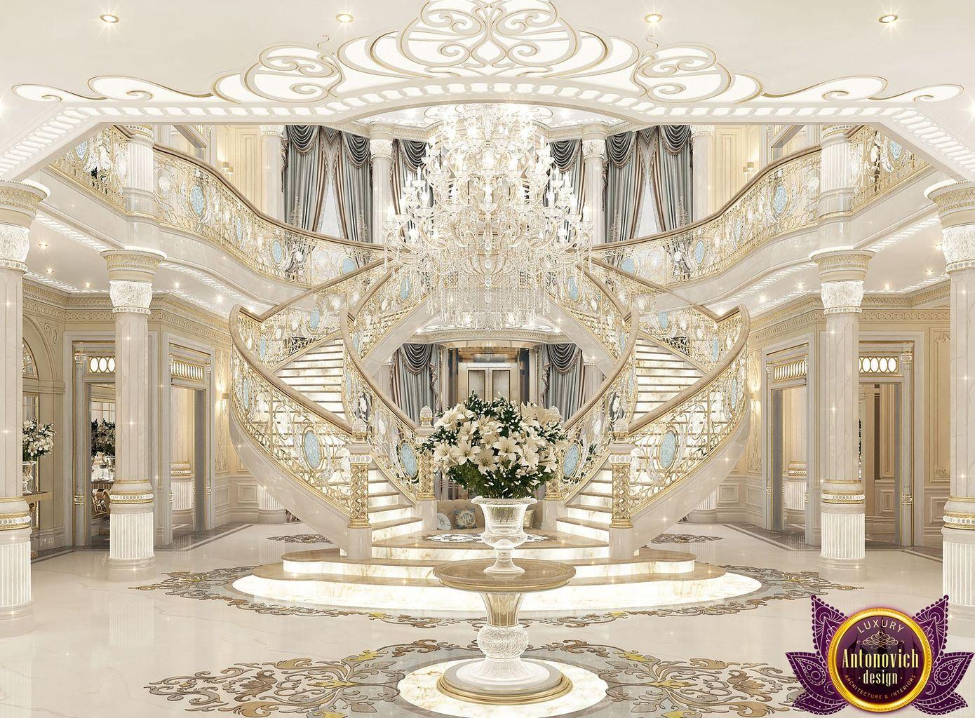LUXURY ANTONOVICH DESIGN UAE: Palace interiors from Luxury