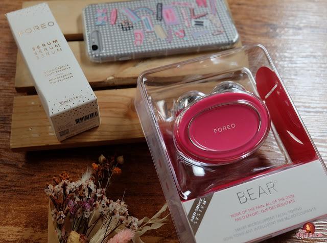 Análise do produto: FOREO BEAR | Querida Kitty Kittie Kath 4