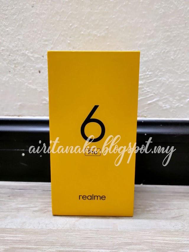 Beli telefon bimbit REALME 6 PRO di Shopee.