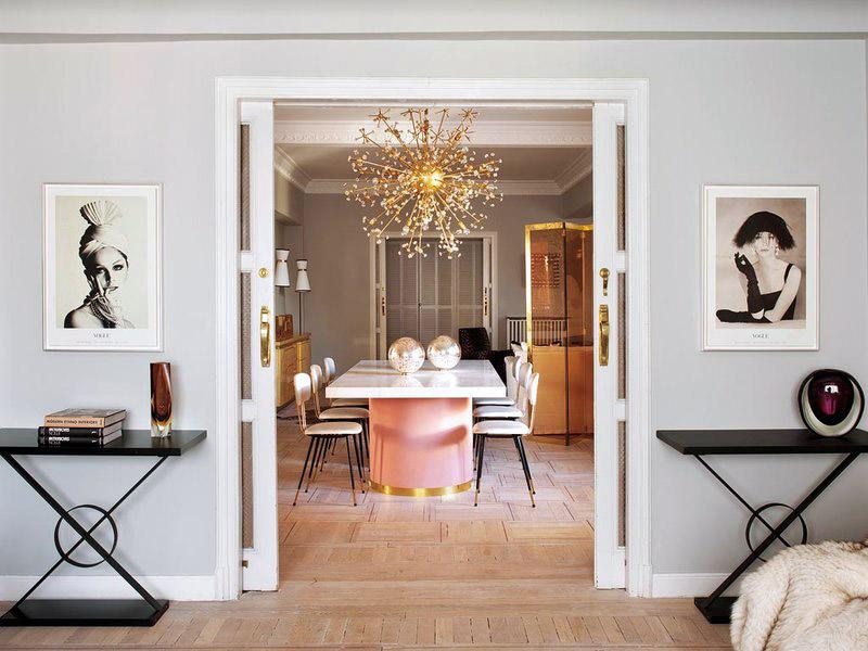 Decor inspiration an elegant and chic apartment in madrid - Decoracion interiores madrid ...