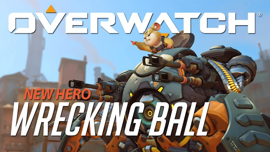 overwatchs hero wrecking ball live now