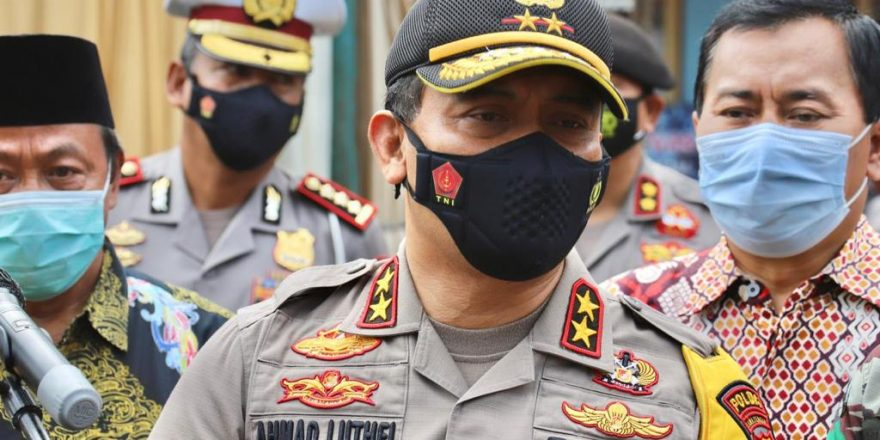 Kunjungi Demak, Kapolda Jateng: Kami Melihat Penerapan Prokes Sudah Sangat Baik