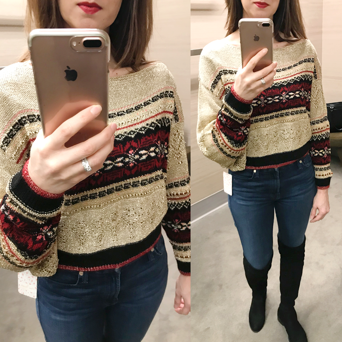 NYE sweater