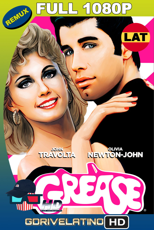 Grease (1978) BDRemux 1080p Latino-Ingles MKV