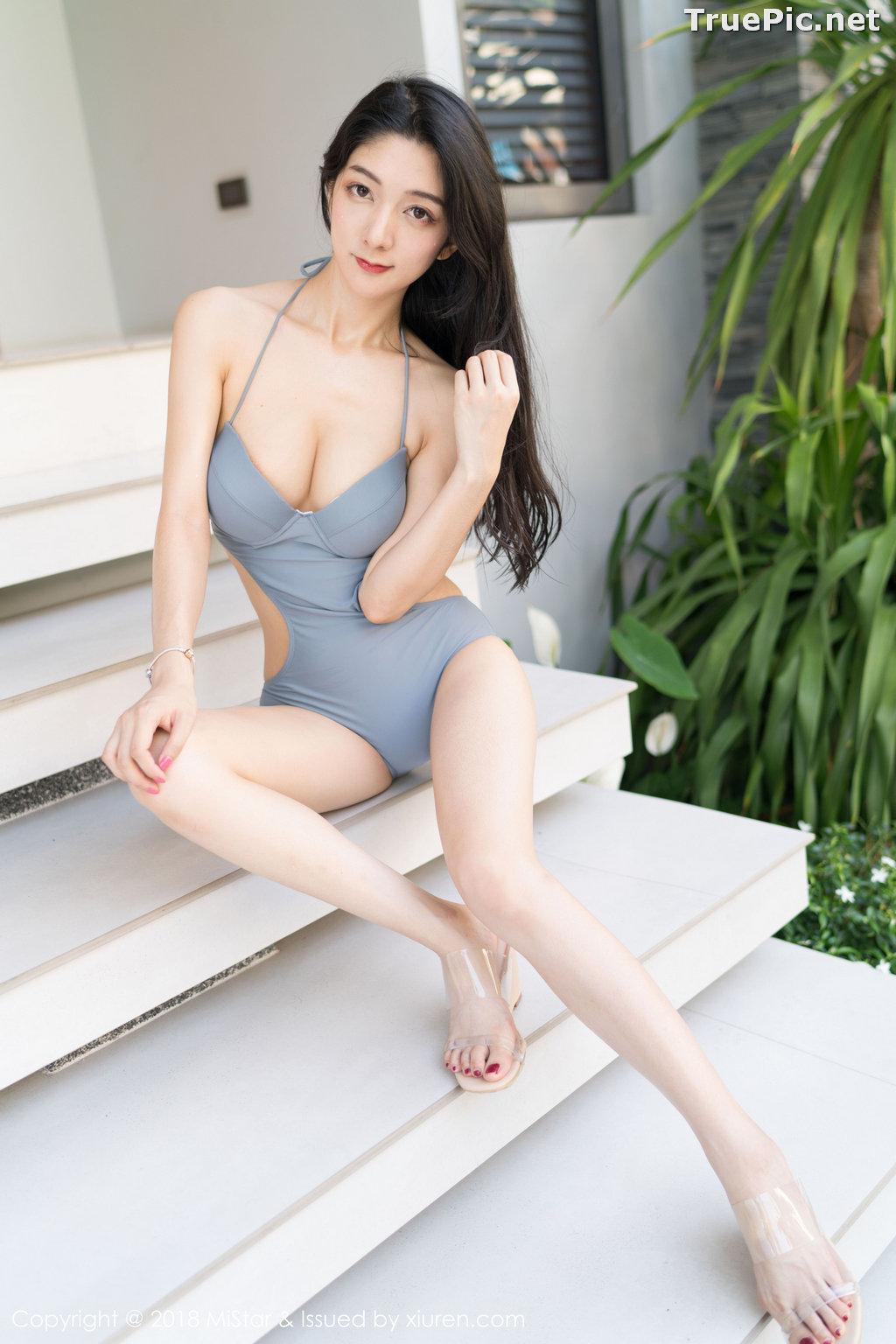 Image MiStar Vol.238 - Chinese Model - Xiao Reba (Angela小热巴) - Sleep Dress and Monokini - TruePic.net - Picture-33