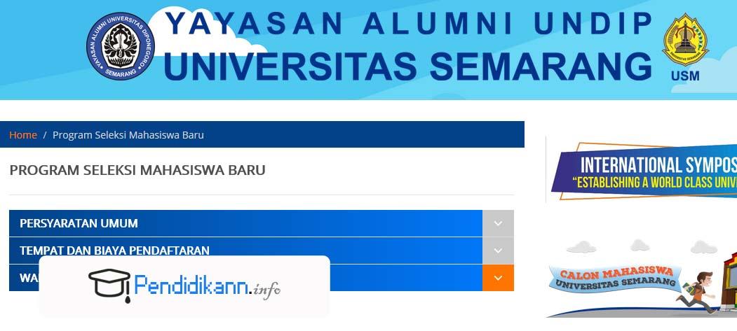 Info Pendaftaran USM Untuk Mahasiswa Baru