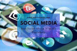 Best Social Media Sites for Youtubers