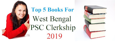 Top 5 Books For West Bengal PSC Clerkship 2019