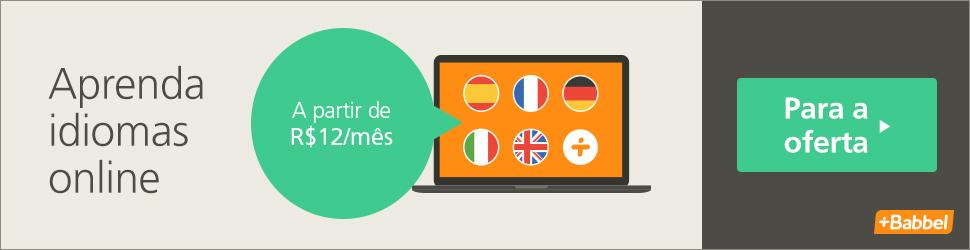 Aprenda Idiomas Online com a Babbel à partir de R$ 12,00 por Mês!