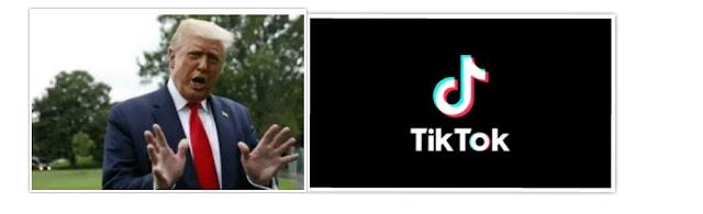 Trump announces to ban TikTok app usage in US