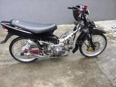 8 Variasi Modifikasi Motor Crypton