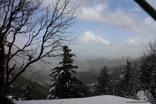 Dalhousie, Himachal Pradesh, Himalayas, India, Travel, Travelogue, snow fall, snow fall in Dalhousie, winter, Dalhousie in Winter, Dalhousie in March