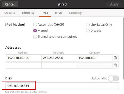 Cara Install dan konfigurasi DNS Server di Debian 10