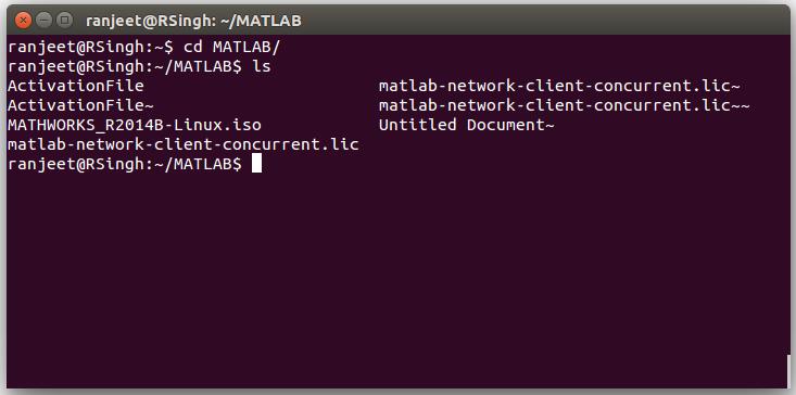 Ranjeet: Matlab Installation in Ubuntu from iso file