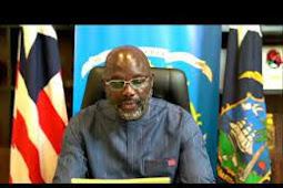 Inilah Pidato Presiden Liberia, George Manneh Weah di Debat Umum PBB ke 75