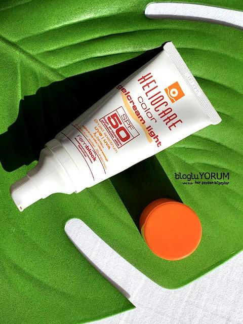 Heliocare Color GelCream Light SPF 50 Renkli Güneş Kremi kullananlar 2