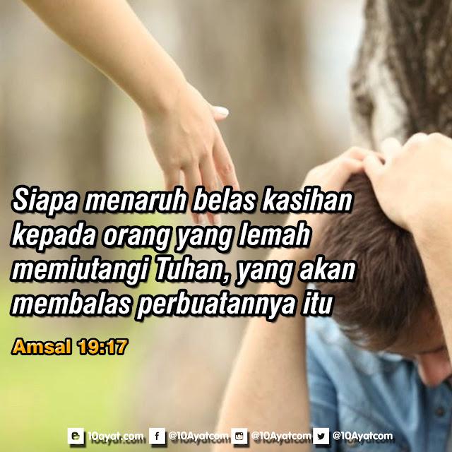 Amsal 19:17
