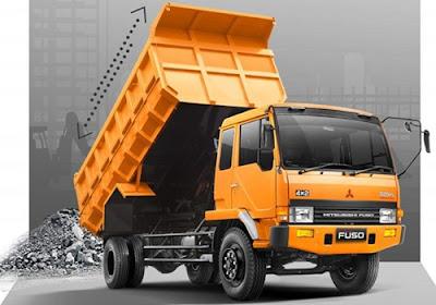 Truk Fuso Dump Truck