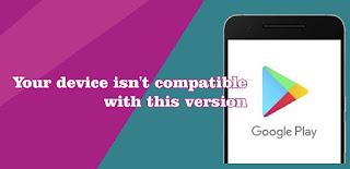 Ponsel Android yang tidak Kompatibel dengan Versi Aplikasi