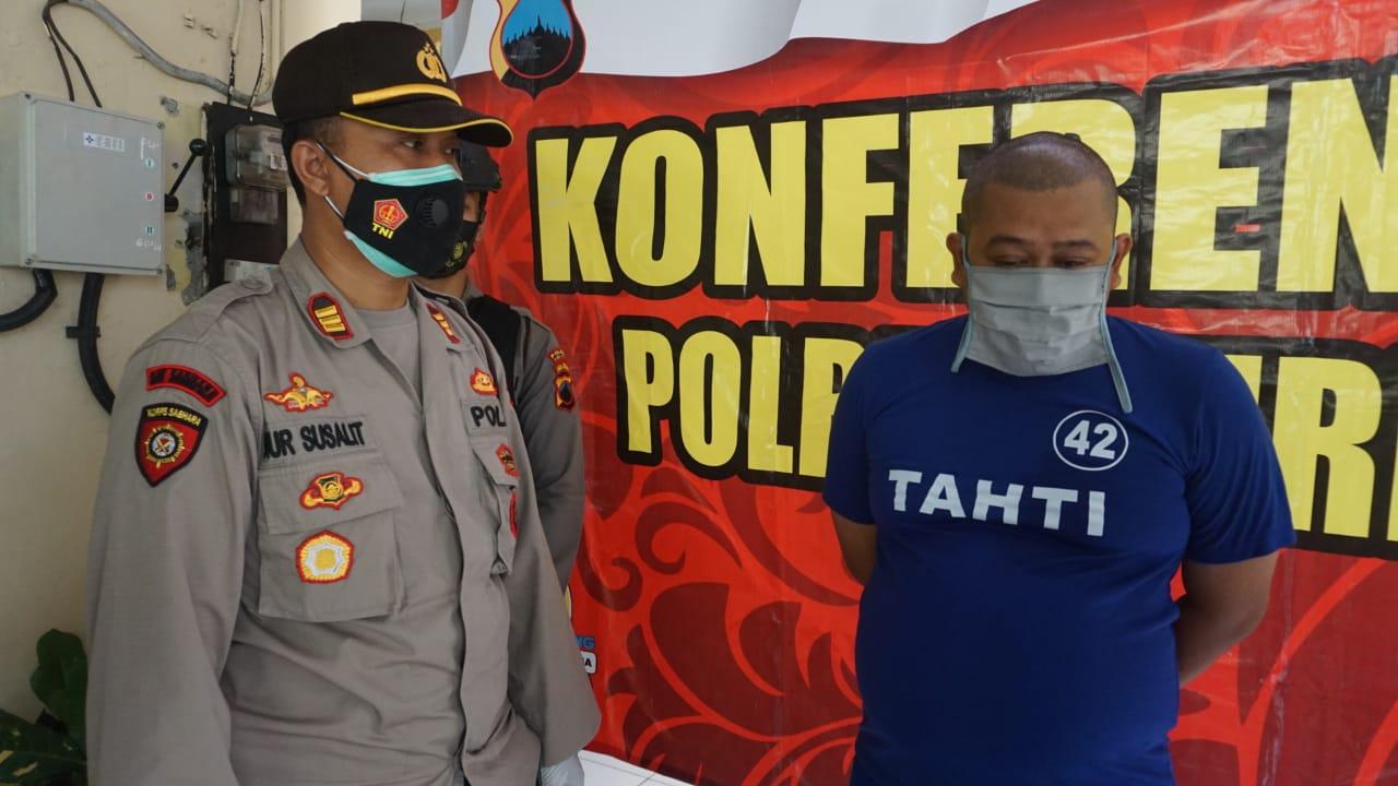 Penipu Modus Pengangkatan PNS Diamankan Polisi Polsek PurbaIingga