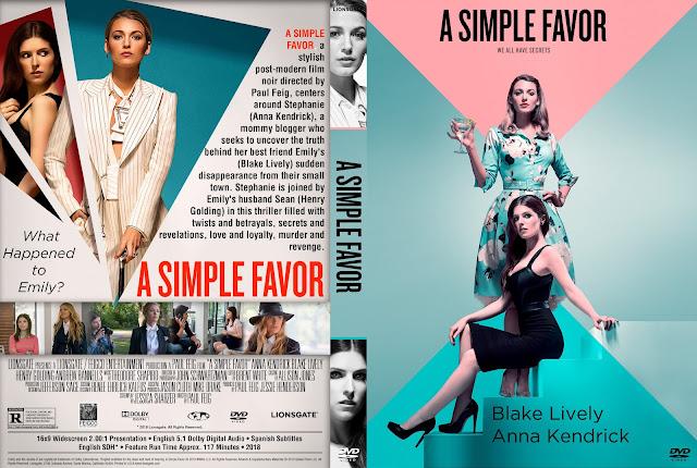A Simple Favor DVD