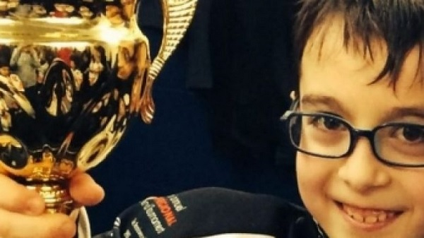 9-year old Albanian, Kevin Bajraktari champion of Mathematics in Canada