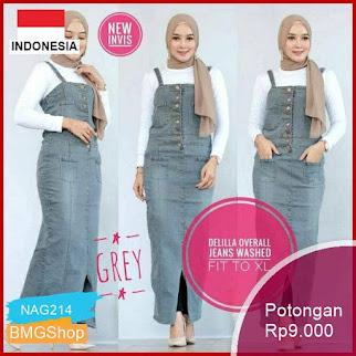 NAG214 Jeans Delilla Resita Jadore Overall Jeans Murah Bmgshop