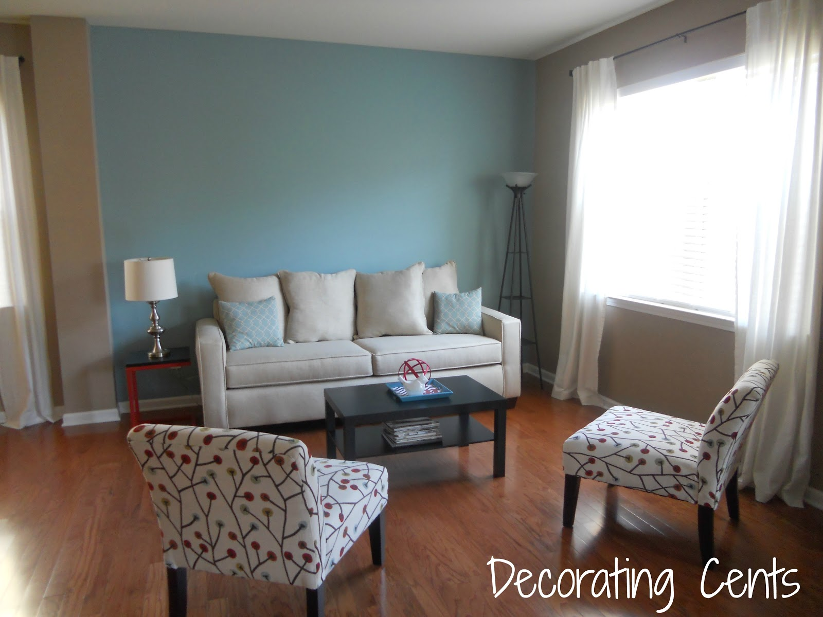 Decorating Cents: Changing The Background