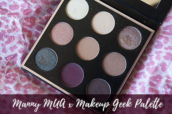 mannymua, makeup geek, makeup geek eyeshadow, eyeshadow palette