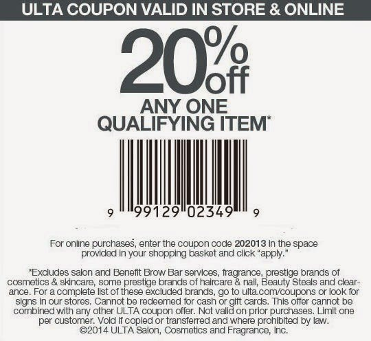 ulta coupons 2016