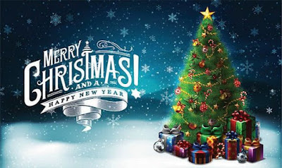 Merry Christmas  with Tree Images