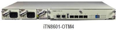 iTN8601 OTM4 - iTN8601-OTM4 - Mux/Demux activo DWDM de 4 canales hasta 10G sobre una única fibra bidireccional