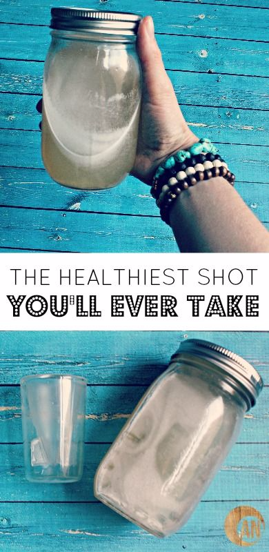 THE HEALTHIEST SHOT YOU'LL EVER TAKE