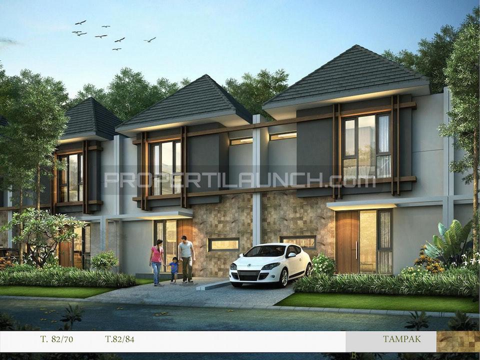 Rumah Cluster Kireina BSD City Tipe 82