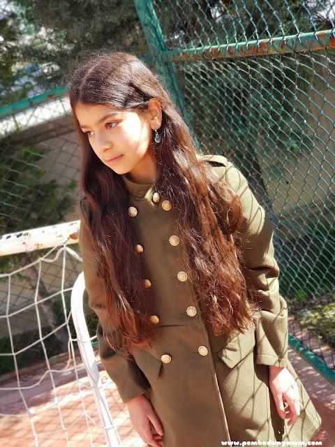 kız çocuğu mont modelleri