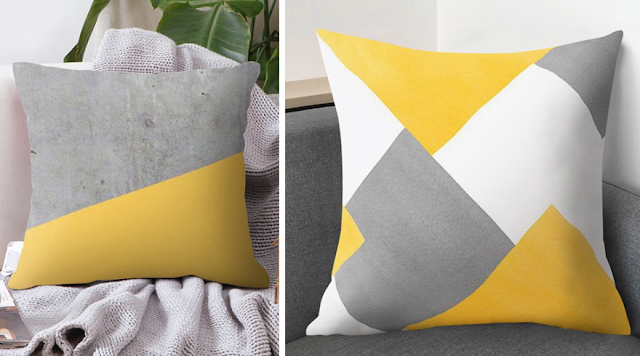 Pantone 2021 throw pillow case