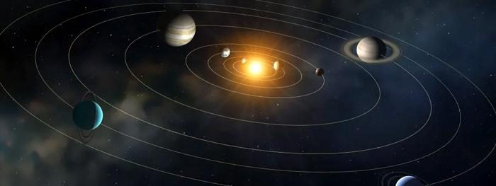 centro do sol não é o centro do sistema solar