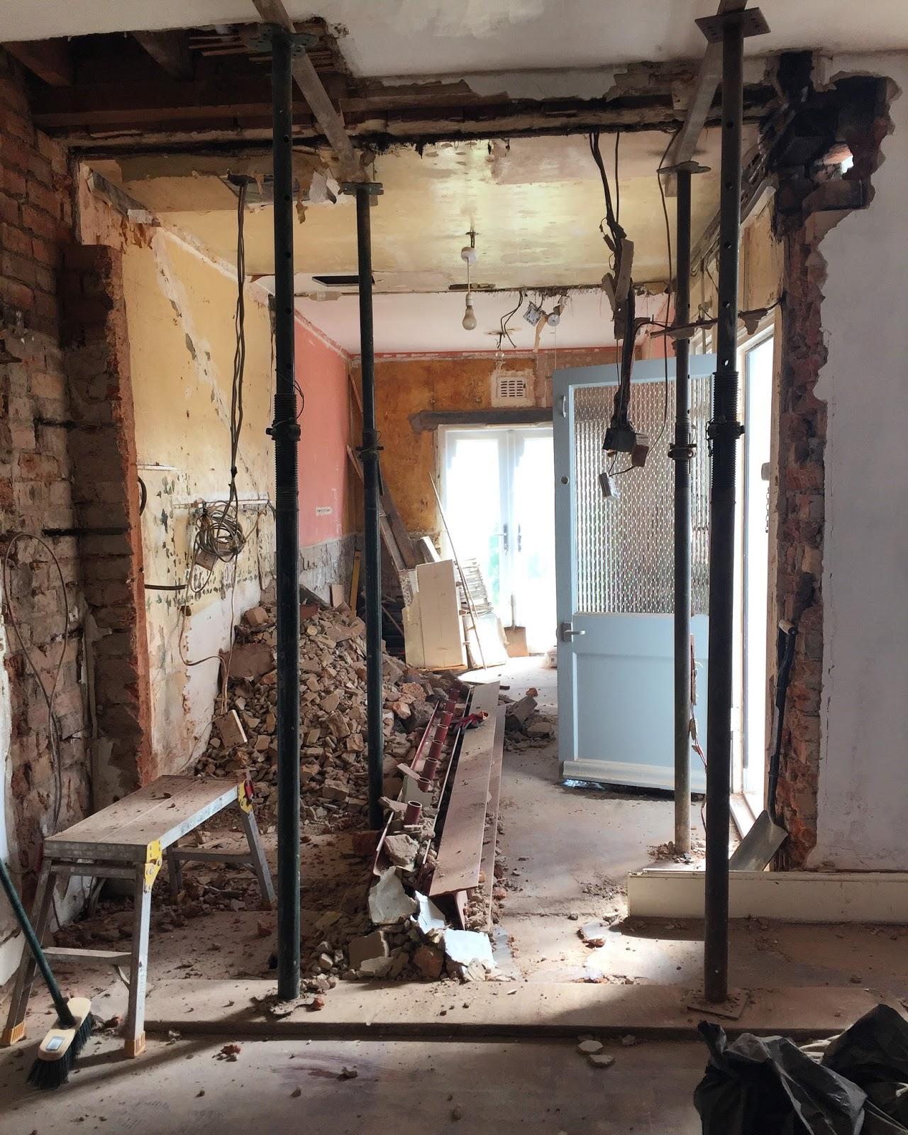 Load Bearing Wall : Kezzabeth uk home renovation interiors and diy