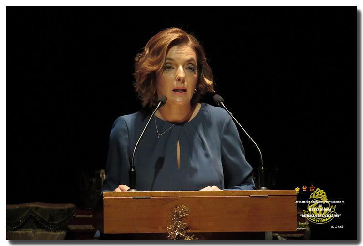 María del Carmen Martín Barbero, Pregonera Reyes Magos 2018.