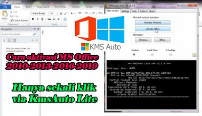 Cara, Aktivasi, Ms, Office, 2016, 2013, 2010, Dengan, KmsAuto, Lite, msoffice, laptop, pc, tutorial, activator, download, win 7, win 10, windows,