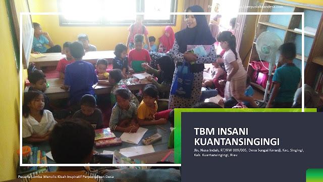 Mewujudkan Impian Sang Motivator Membangun Perpustakaan Desa