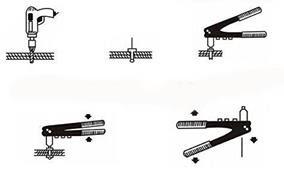 استخدام مسدس البرشام