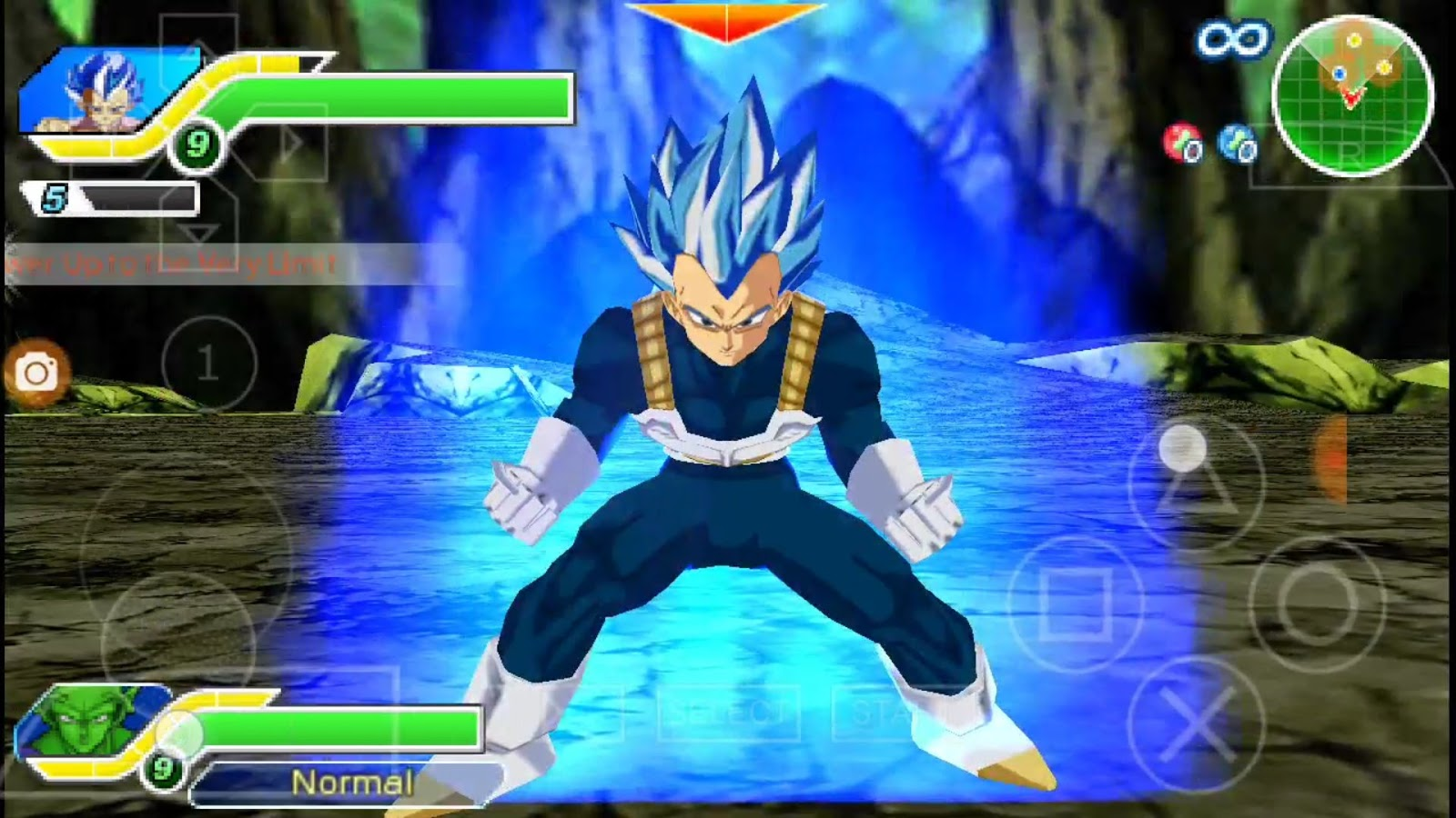 New DBZ TTT Mods With Vegeta Ultra Blue & Goku UI DOWNLOAD