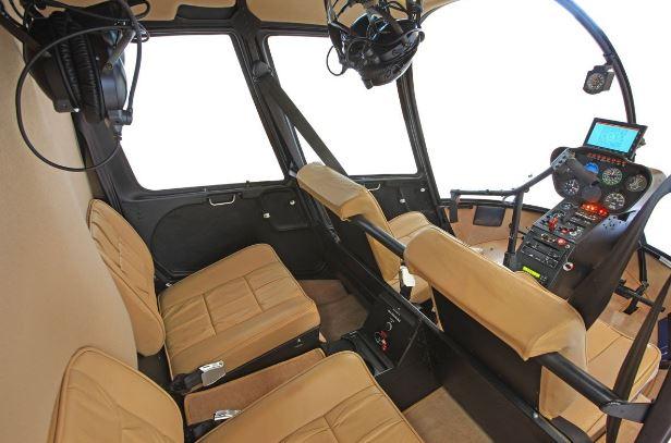 Robinson R44 Raven II interior