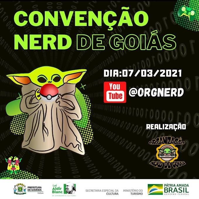 Convenção Nerd de Goiás | Um novo evento completamente virtual e gratuito está chegando