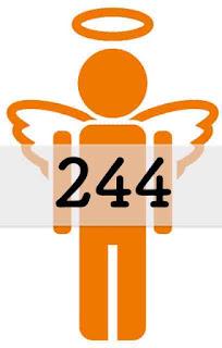 エンジェルナンバー 244