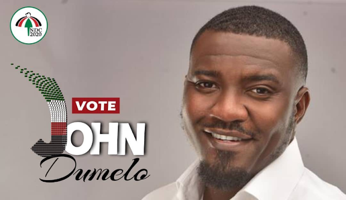 John Dumelo launches political ambition for 2020