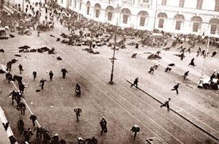 Petersburg marzec 1917